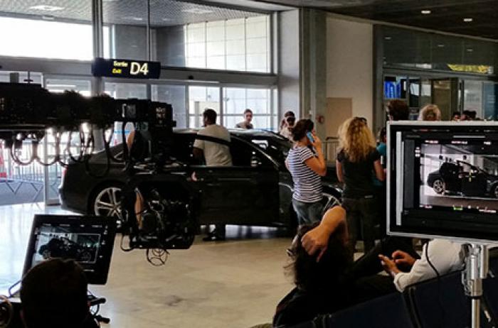 Tournage et Promotion Aéroport de Nice