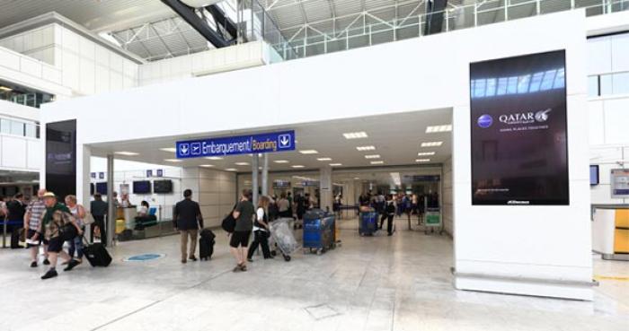 Régie publicitaire à l'aéroport